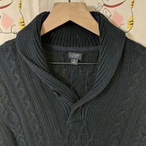 J. Crew Shawl Collar Sweater